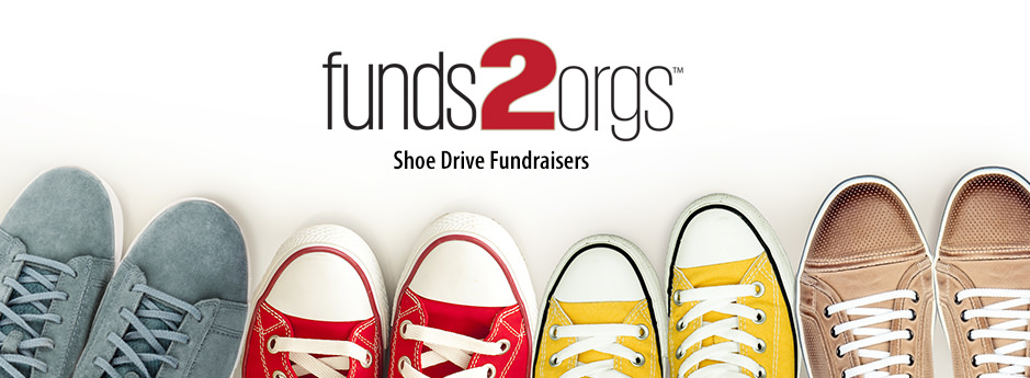 Raise funds for your organization with a shoe drive fundraiser
